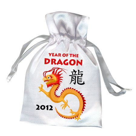 Chinese Zodiac Year of the Dragon 2012 Favor Bag