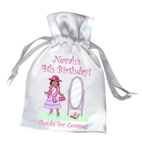 Dress Up Girl Favor Bag