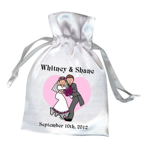 Forever Love Wedding or Bridal Shower Favor Bag
