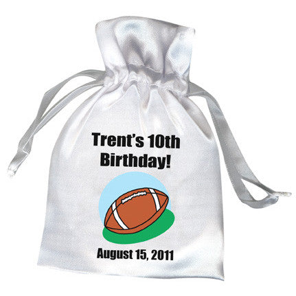 Football Party Favor Bag