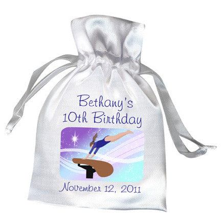 Gymnastics Dreams Party Favor Bag - Vault