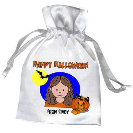 Halloween Party Favor Bag - Girl