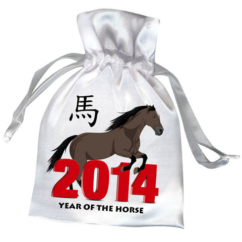 Chinese Zodiac Year of the Horse 2014 Favor Bag