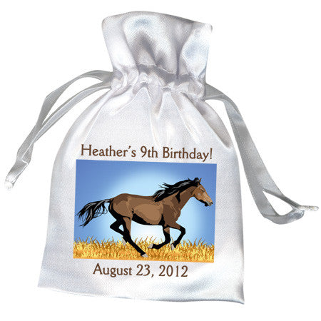 Wild Horse Birthday Party Favor Bag