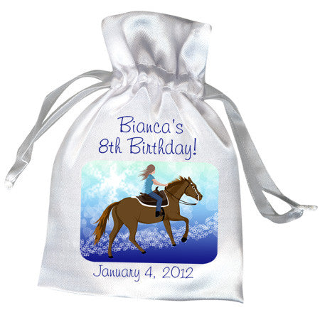 Horse Dreams Birthday Party Favor Bag