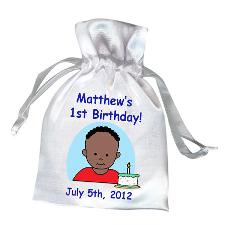 Number or Age Favor Bag - Birthday Design