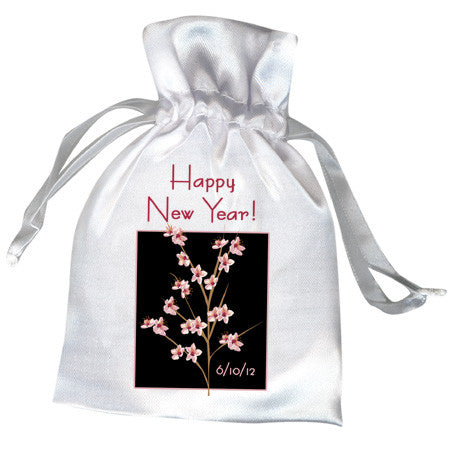 Peach Blossom Favor Bag