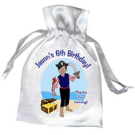 Pirate Birthday Party Favor Bag