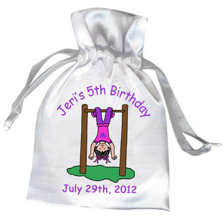 Playground Park Birthday Party Favor Bag - Girl