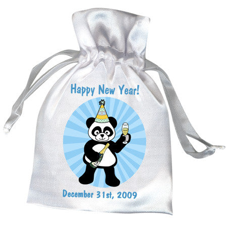 New Year Party Panda Party Favor Bag