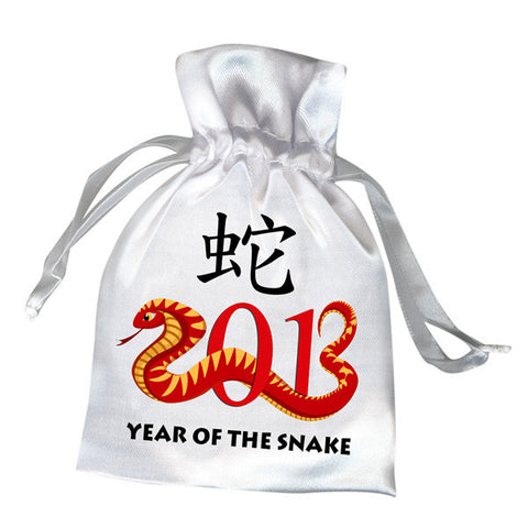 Chinese Zodiac Year of the Snake 2013 Favor Bag