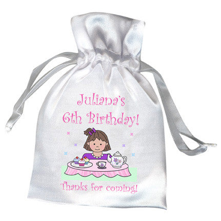 Tea Party Favor Bag