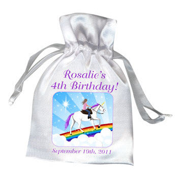 Unicorn Dreams Birthday Party Favor Bag