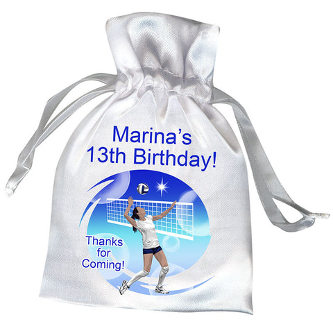 Volleyball Dreams Party Favor Bag