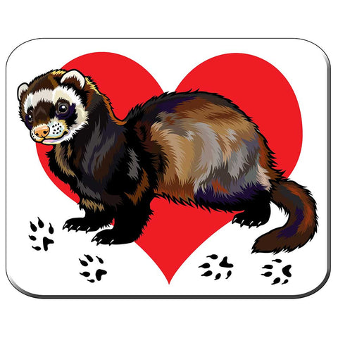 Ferret Love Mousepad
