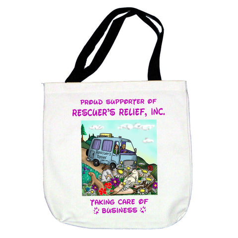 Rescuer's Relief Ferret Tote Bag
