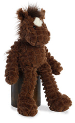 Fuffles Horse side view - Aurora Plush