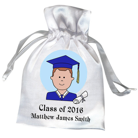 Personalized Graduation Favor Bag - Boy or Man