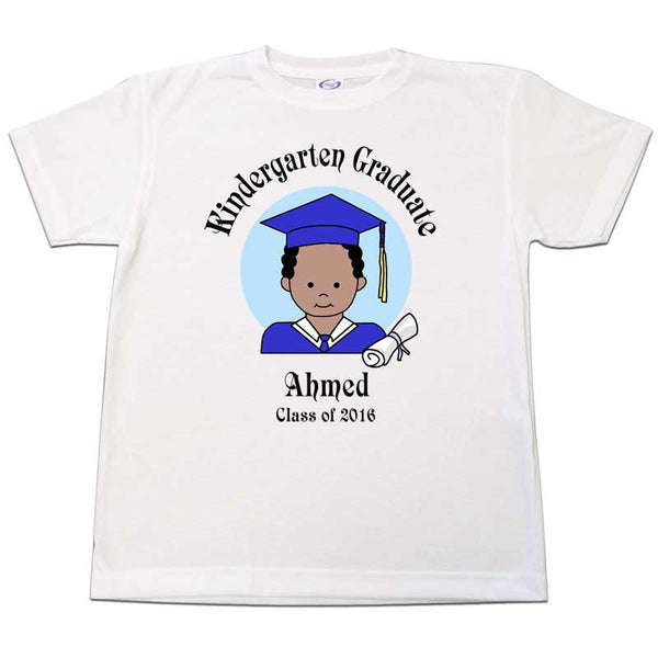 Personalized Kindergarten Graduation T-Shirt for Boys