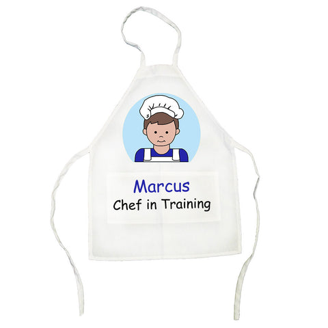 Personalized Kids Apron - Boy