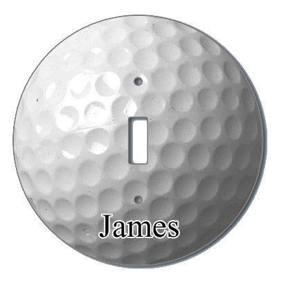 Golf Ball Light Switch Cover