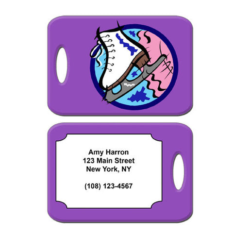 Ice Skate Bag Tag