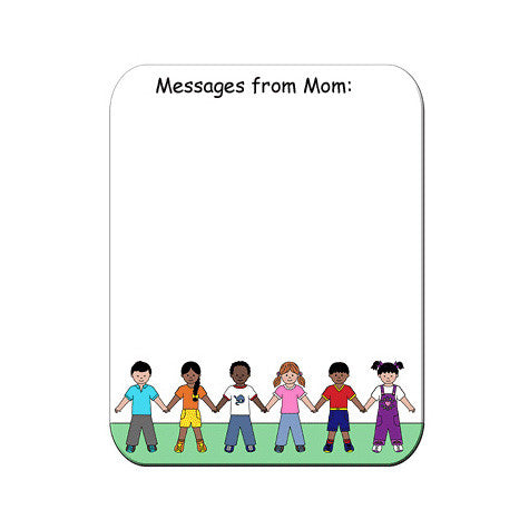 Multicultural Kids Memo Board