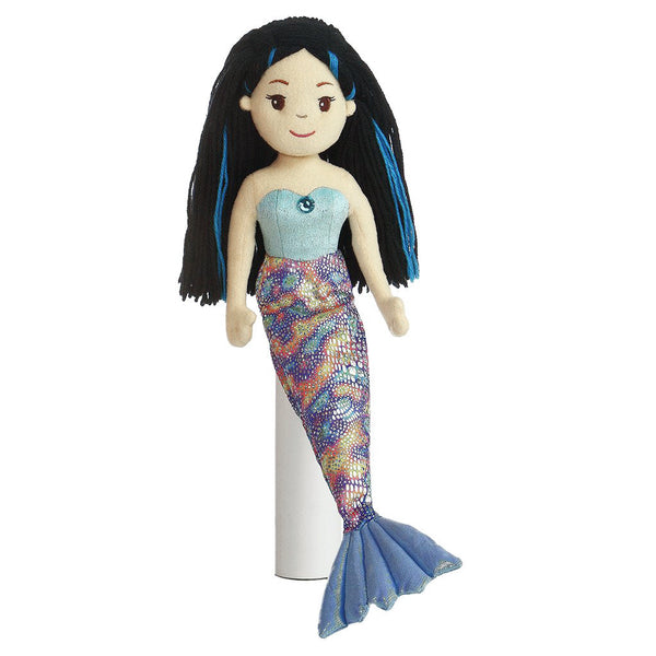 "Mermaid Doll - 18"" Morgana Aurora Plush Sea Sparkles"