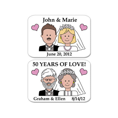 Happy Couple Magnet