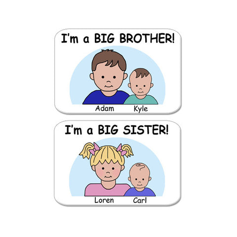 Big Brother or Big Sister Magnet