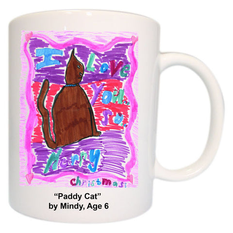 Mug featuring your child's art