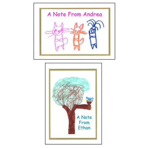 Note cards Printed with your child's art