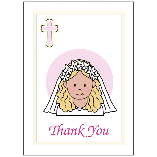 First Communion Or Confirmation Thank You Notes For Kids Mandys