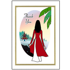 Thank You Note Cards - Vietnamese Women