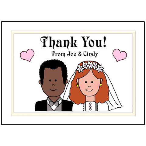 Happy Couple Thank You Notes