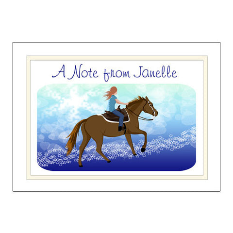 Horse Dreams Thank You Note Cards