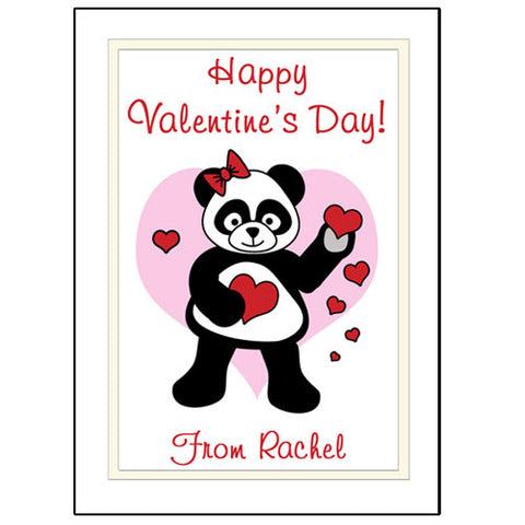 Love Panda Valentines Cards