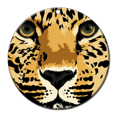 Leopard Christmas Ornament