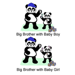 Panda Big Brother T Shirt
