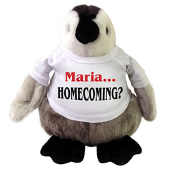 Personalized Stuffed Homecoming Penguin