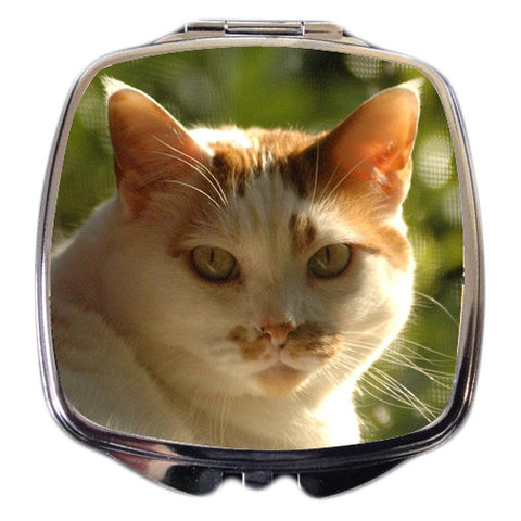 Pet Photo Compact Mirror