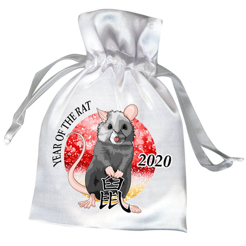 Year of the Rat 2020 Chinese Zodiac Favor Bag