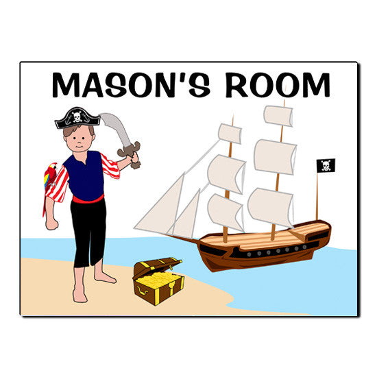 Pirate Room Sign