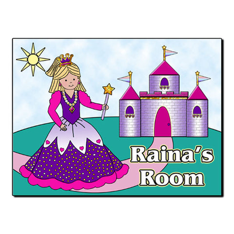 Princess Room Sign
