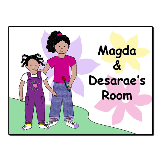 Sisters Room Sign