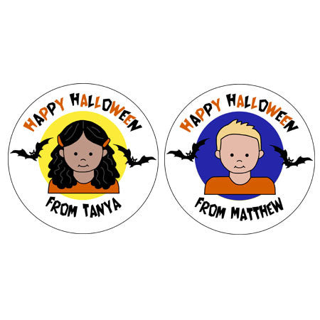 Kids Halloween Stickers