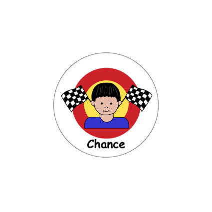 Race Car Stickers - Boy