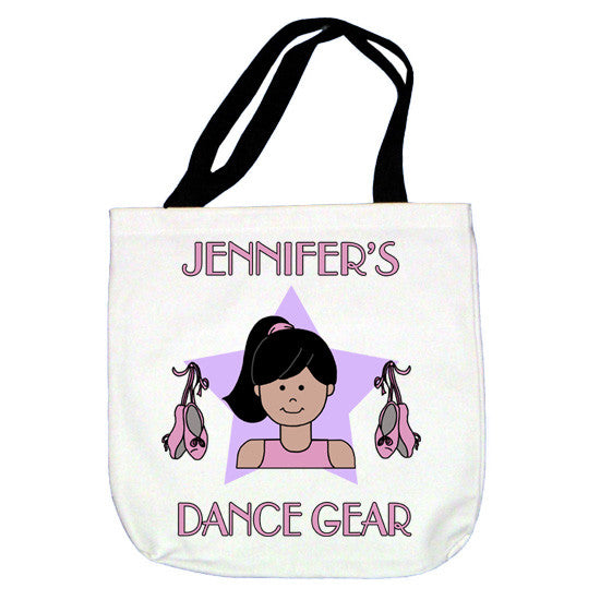 Ballet Kid Tote Bag