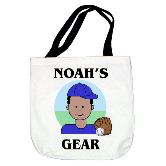 Baseball Kid Tote Bag - Boy