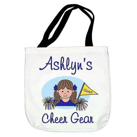 Cheerleading Kid Tote Bag